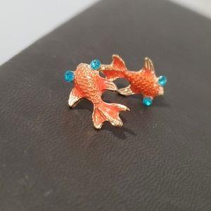 🌷3 For $20🌷Little Koi fish earrings 😍